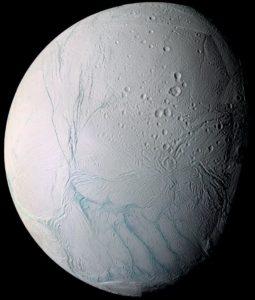 Saturnmond Enceladus, Bild: NASA